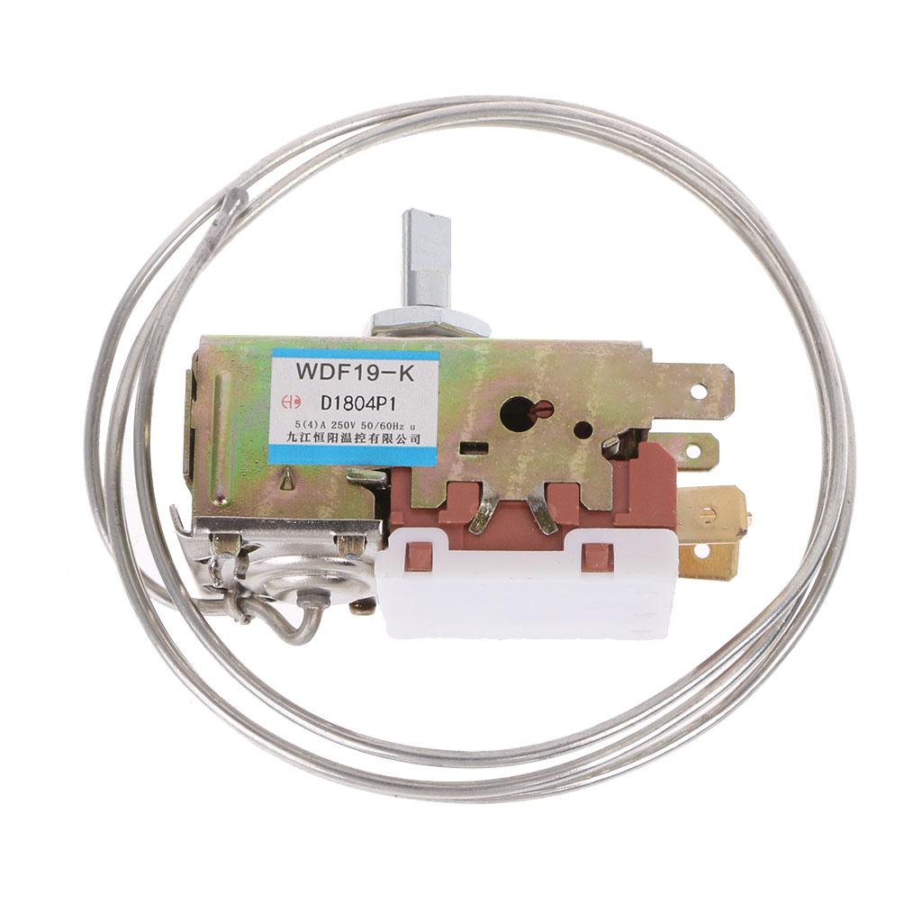 WDF19-K الثلاجة ترموستات المنزلية المعدنية متحكم في درجة الحرارة جديد