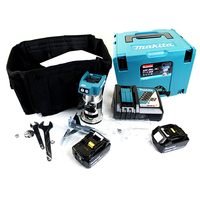 Japan Makita Rechargeable Woodworking Trimming Engraving Machine DRT50 D.C.18V Brushless Motor Base Assembly 30000r/min 1/43/8