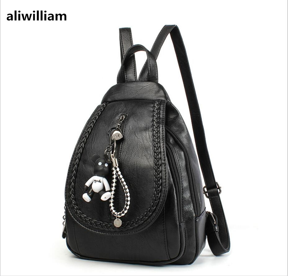 ALIWILLIAM 2017 Summer New Korean Wild Personality Simple Fashion Shoulder Bag Leisure Chest Bag Travel Small Backpack aliwilliam bag female 2017 autumn new