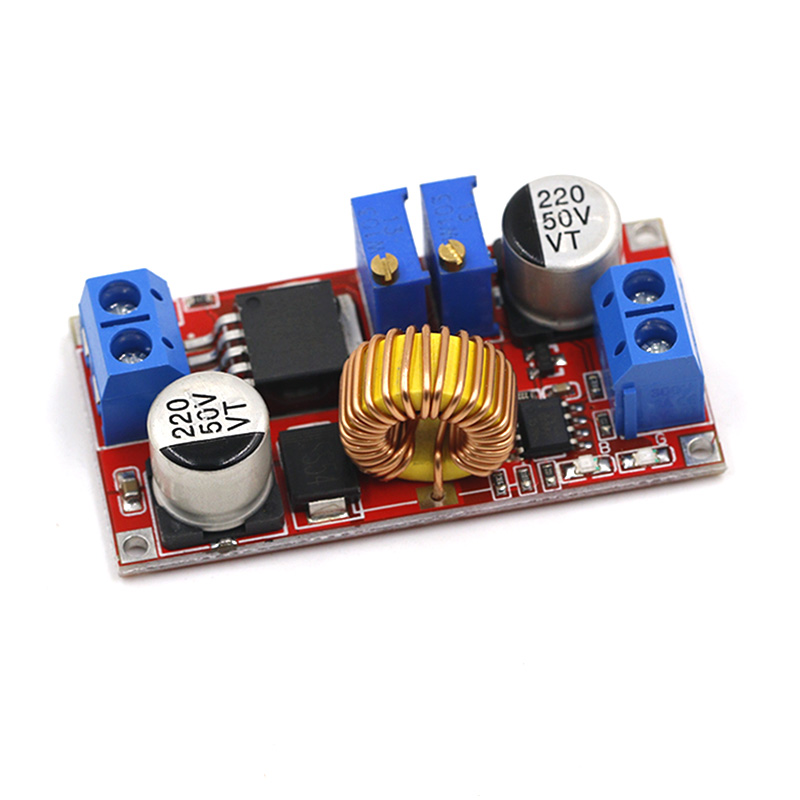 <font><b>5A</b></font> Adjustable <font><b>DC</b></font>-<font><b>DC</b></font> CC CV Lithium Battery <font><b>DC</b></font> Step Down Charger Board Power Supply Converter XL4005E1 <font><b>5</b></font>-32V to 0.8-30V LED Driver image