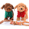 Новые Электронные Игрушки Для Животных Пение Ходить Плюшевая Собака Электронная Собака Интерактивные Игрушки для Детей Brinquedos Игрушки Подарки
