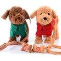Novos Brinquedos Eletrônicos Pet Cantando Passear o Cão De Pelúcia Cão Brinquedos Interativos para Crianças Brinquedos Eletrônicos Brinquedos Presentes