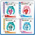 Mini Qute WTOYW QCF 4 styles Kawaii Anime Hatsune Miku plastic building blocks brick cartoon model educational toy gift