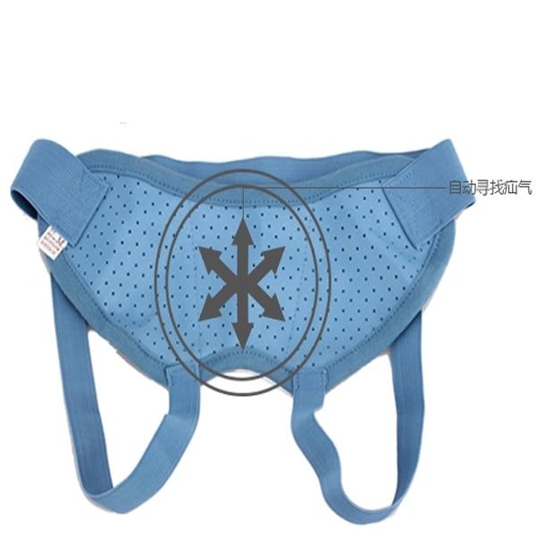 New Treatment Hernia Belt Medicine Bag For Adult Umbilical Men Blue Release Pain Surgery For Men Health Care