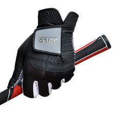 POLO Golf Gloves Sheepskin Leather PU New Male Antiskid Left Hand 2016 Antiskid Sport Gloves Golf Handschoen Gants De Golf 1 Pcs