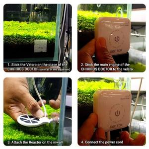 Image 3 - NICREW Chihiros Doctor 3 Aquarium Algae Remover Sterilizer Twinstar Style Electronic Inhibit Cleaning Tools Aquarium Accessories
