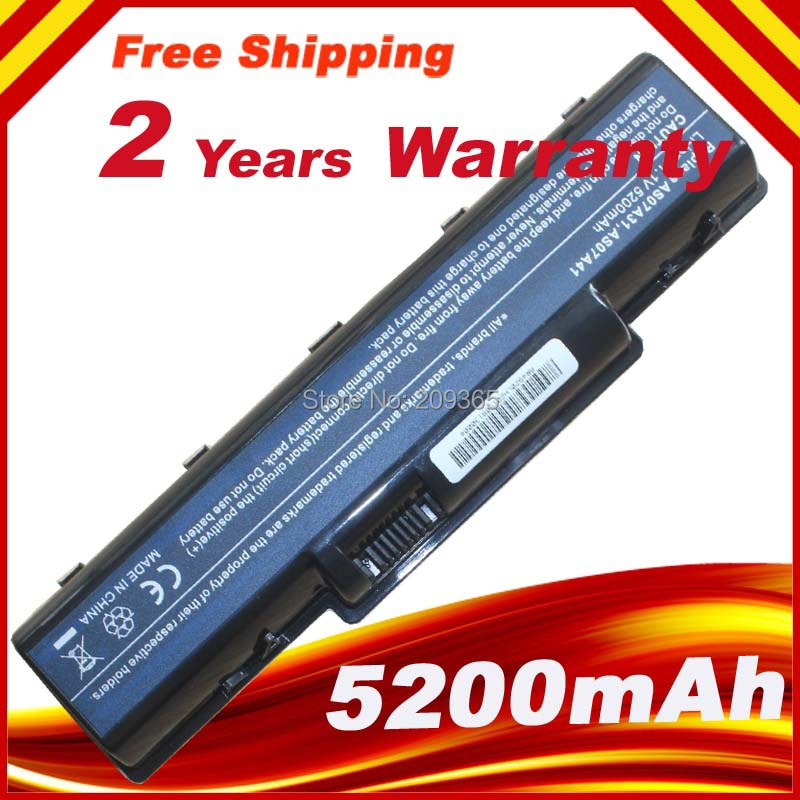 WHOLESALE New 6 cells Laptop Battery AS07A72 AS07A75 AS09A61 AS09A71 FIT For Acer Aspire 4740 4920G 4925G 4935 4937 5236 5535 image