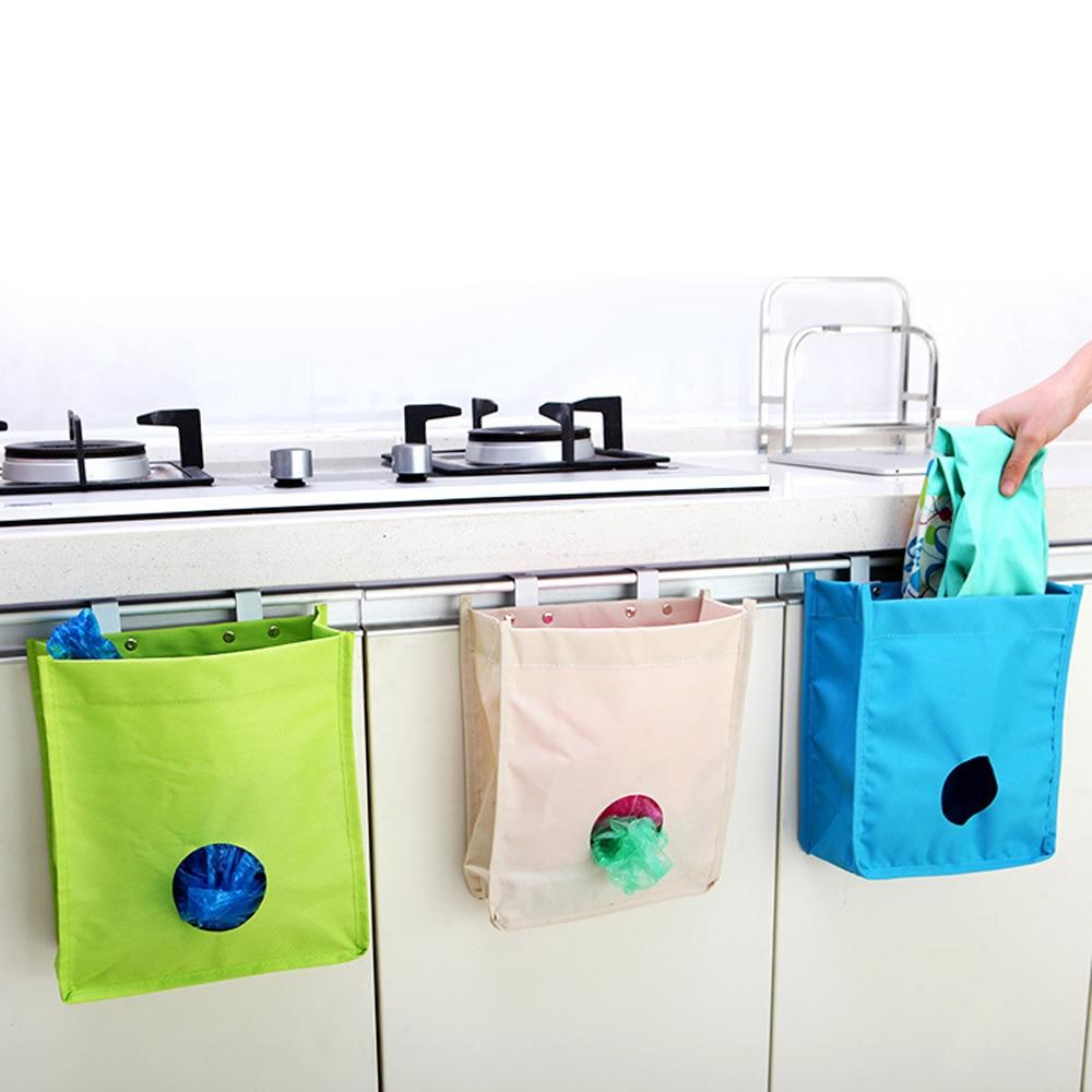 Ντουλάπα κουζίνας Πόρτα τύπου πίσω σάκο Τσάντα σκουπιδιών Τσάντα ... 09fd6c4bf7f