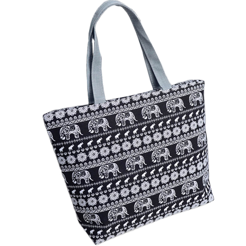 High Quality Canvas Women's Handbag Fashion Character Casual Tote Shoulder Bag Girls Lovely Big Capacity Leisure Shopper Bag casual canvas satchel men sling bag