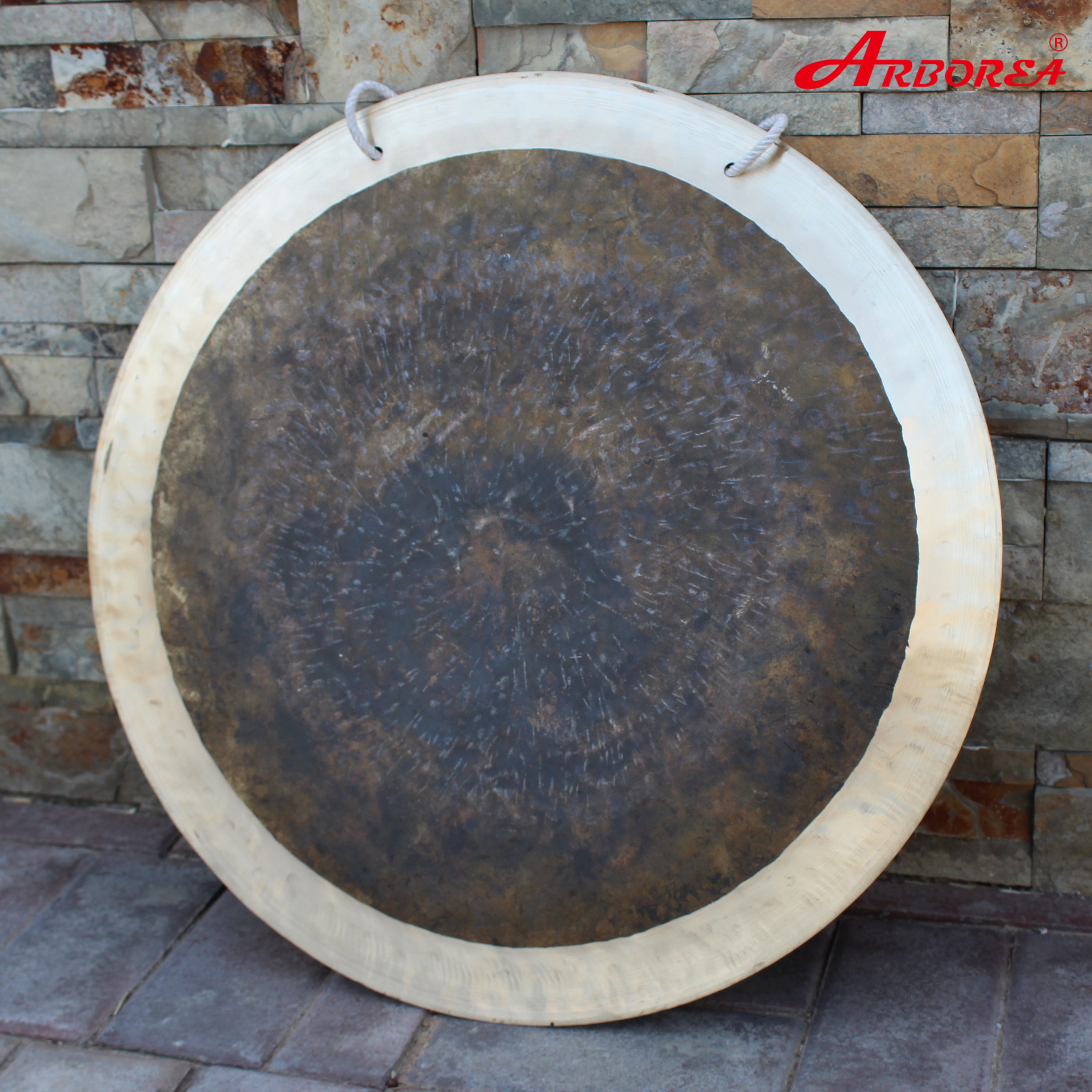 Arborea 100% Hand Hammered 12'' Eclipse Wind Gong