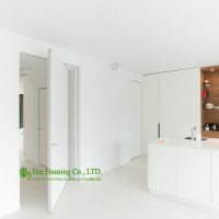 White Color Pivot Doors Modern Interior Pivot Doors