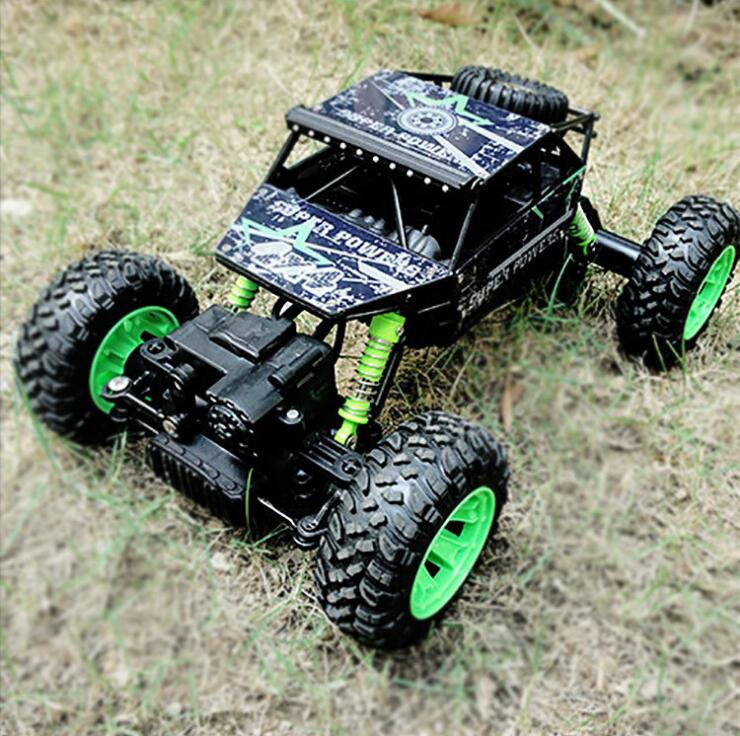 цены на Children's remote control toy rock climber four-wheel alloy climbing buggy remote control car