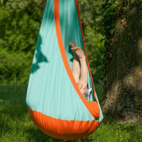 Kids Pod Swing Seat security children's swing indoor chair with inflatable cushion outdoor Cotton Child Hammock Hanging Chair