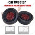 hot Super Power Audio stereo speaker Auto Sound Universal High Efficiency 2x120W Car Mini Dome Tweeter Loud Speaker