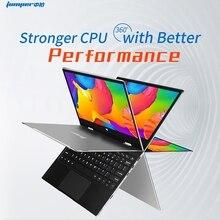점퍼 Ezbook X1 노트북 11.6 인치 Fhd Ips 터치 스크린 360 회전 Ultrabook 4Gb + 128Gb 2.4G/5Ghz Wifi 노트북