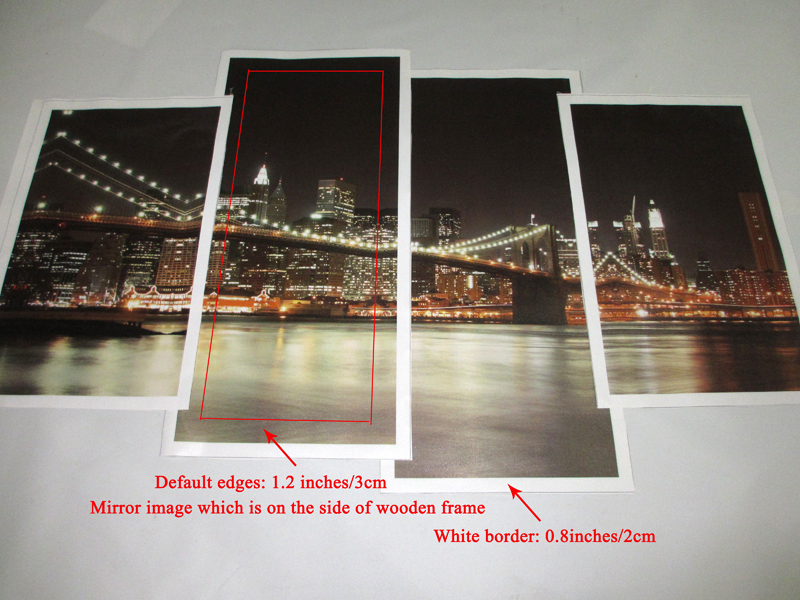 framing options for paintings on unstretched canvas or paper