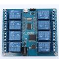 5 В 10A 8 Канала Micro USB Релейный Модуль Верхний Компьютер ICSE014A