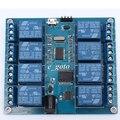 5 v 10a 8 canal micro usb módulo de relé computador superior icse014a