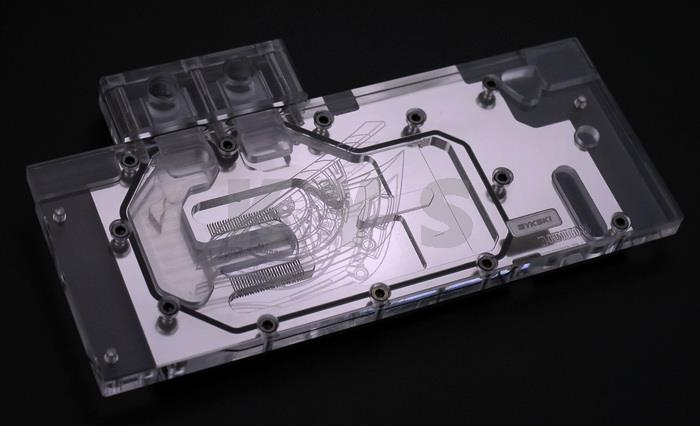 Bykski N-GV1080G1-X VGA Water Cooling Block for GIGA GTX 1080 1070 купить