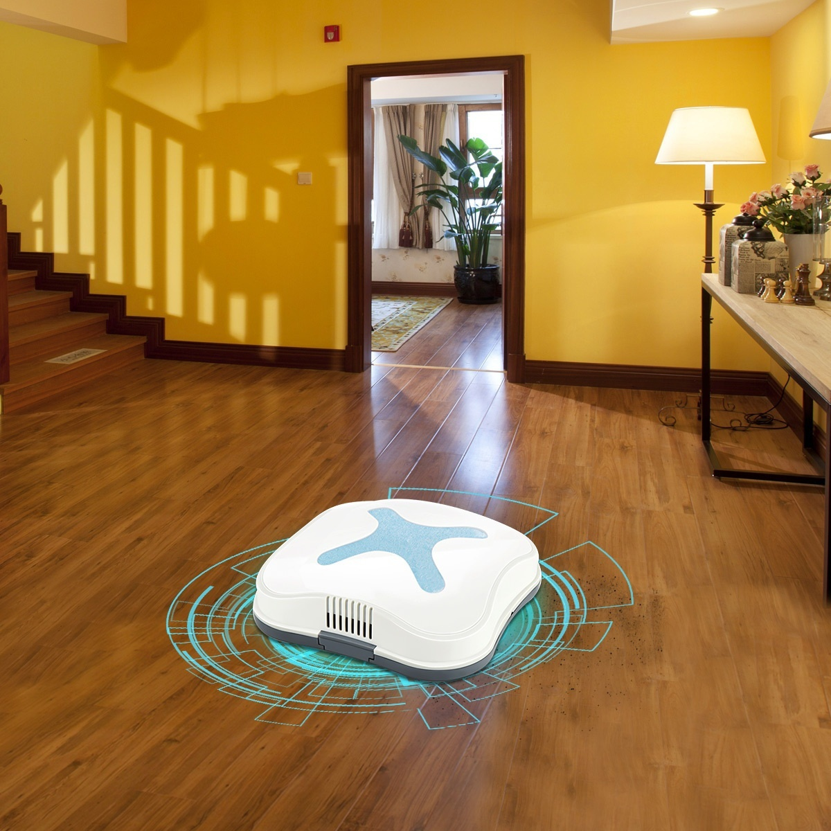 Automatic Smart Sweeping Robot Vacuum Robotic Cleaner Floor Dust USB Rechargeable Sweeping MachineAutomatic Smart Sweeping Robot Vacuum Robotic Cleaner Floor Dust USB Rechargeable Sweeping Machine