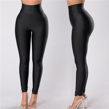 New High Waist Leggings Women Fitness Clothes 2018 Slim Ruch
