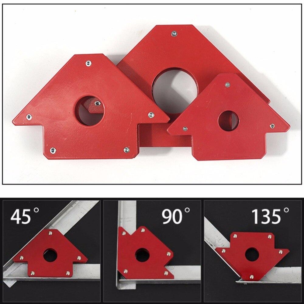25/50/75Lb Magnetische Pfeil Schweißen Halter Clamp 3 Winkel Arc Schweißer Löten Werkzeug A26 dropshipping