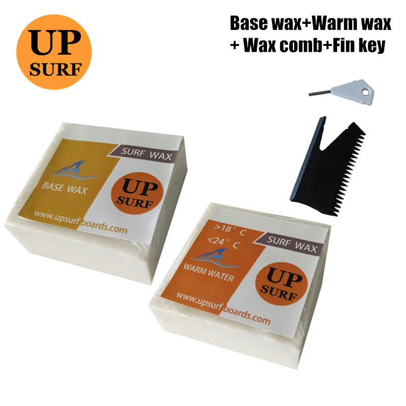 Surfboard Base Wax+warm/Tropical/cool/cold WaxWater Wax And Surf Wax Comb With Fin Key Natural Surf Wax