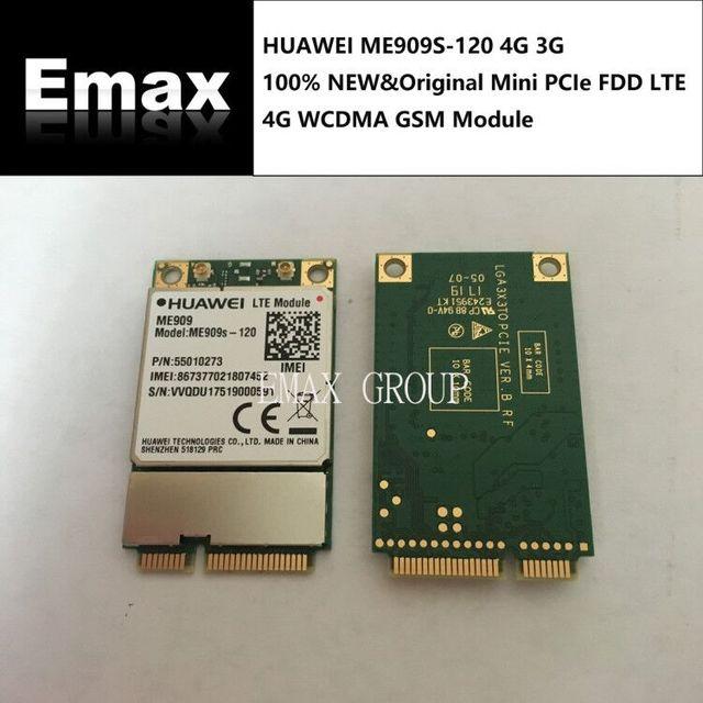 Unlocked Huawei ME909S 120 Mini pcie LTE FDD 4G WCDMA HSPA + DC HSPA kenar GPRS GSM dizüstü dizüstü 100% yeni ve orijinal