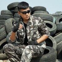 2017 Brand Men Camouflage Suit Outdoor Military Fans Tactical Uniform Outdoor CS Game Uniforms Camouflage Sets