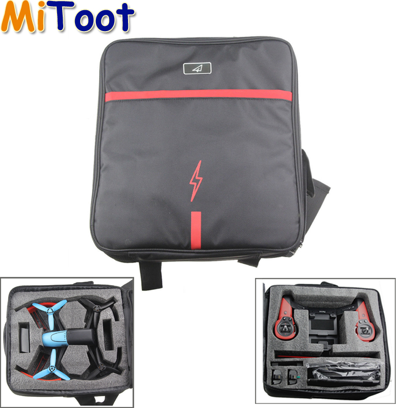 1pcs Waterproof Professional Portable Carrying Shoulder Bag Backpack Case for Parrot Bebop Drone 3.0 rc dji mavic pro professional waterproof drone bag hardshell portable case handbag backpack battery charger storage bag