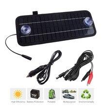 Новые Портативный монокристаллический Солнечный Зарядное устройство Модуль 12 В 4.5 Вт Панели солнечные для автомобиля Автомобиль Лодка Перезаряжаемые Мощность Батарея