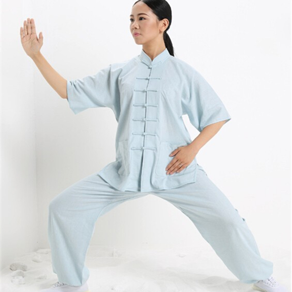 fd932faf3 Tai Chi Uniform Clothing Qi Gong Martial Arts Wing Chun Shaolin Kung Fu  Taekwondo Cloths Apparel