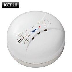 KERUI GS04 433 МГц беспроводной детектор дыма пожарный датчик для G18 W18 GSM Wi-Fi охранная домашняя сигнализация системы автосигнализации