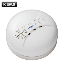 цена на 315/433MHz Wireless Smoke Detector Fire Sensor For GSM WIFI Security Home alarm system Auto Dial alarm Systems