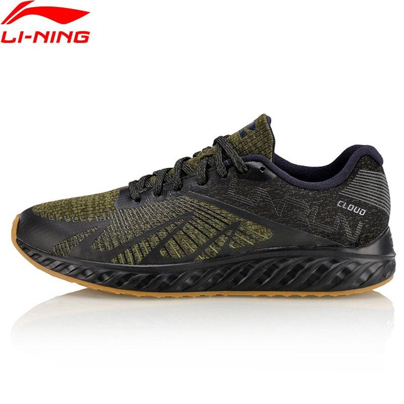 Li-Ning Hommes LN Nuage IV Flamme de Course Chaussures Confort Doublure Sport Chaussures Lumière Poids Coussin Sneakers ARHM055 XYP585