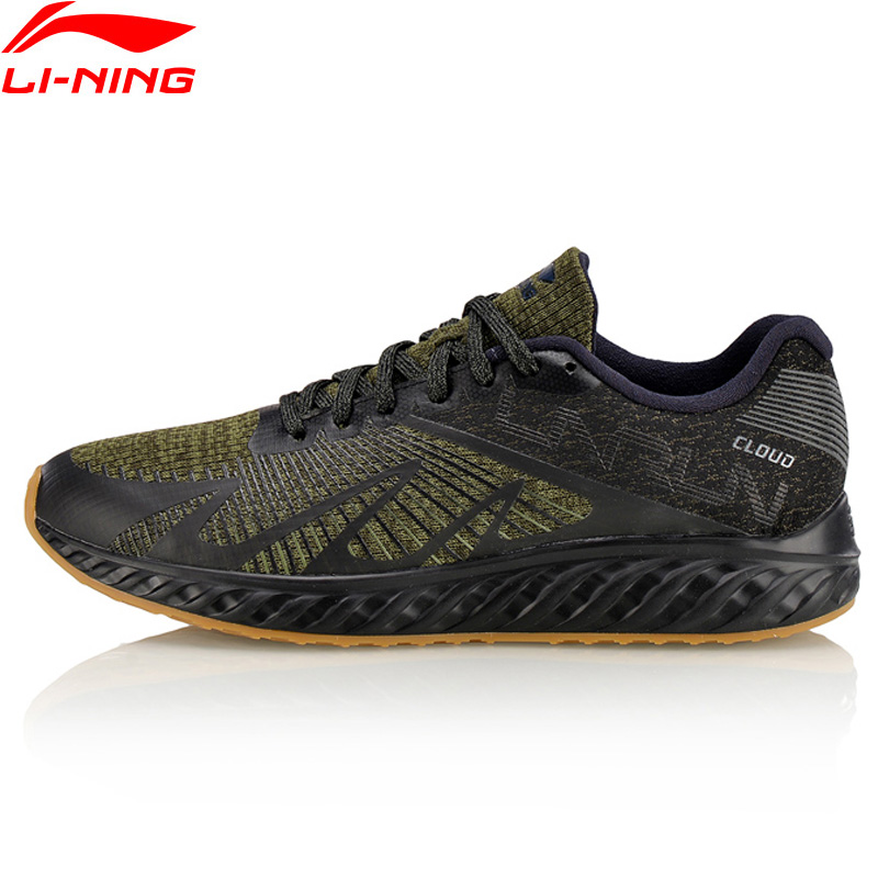 Li-Ning Men LN Cloud IV Flame Running Shoes Comfort LiNing Sport Shoes Light Weight Cushion Sneakers ARHM055 XYP585