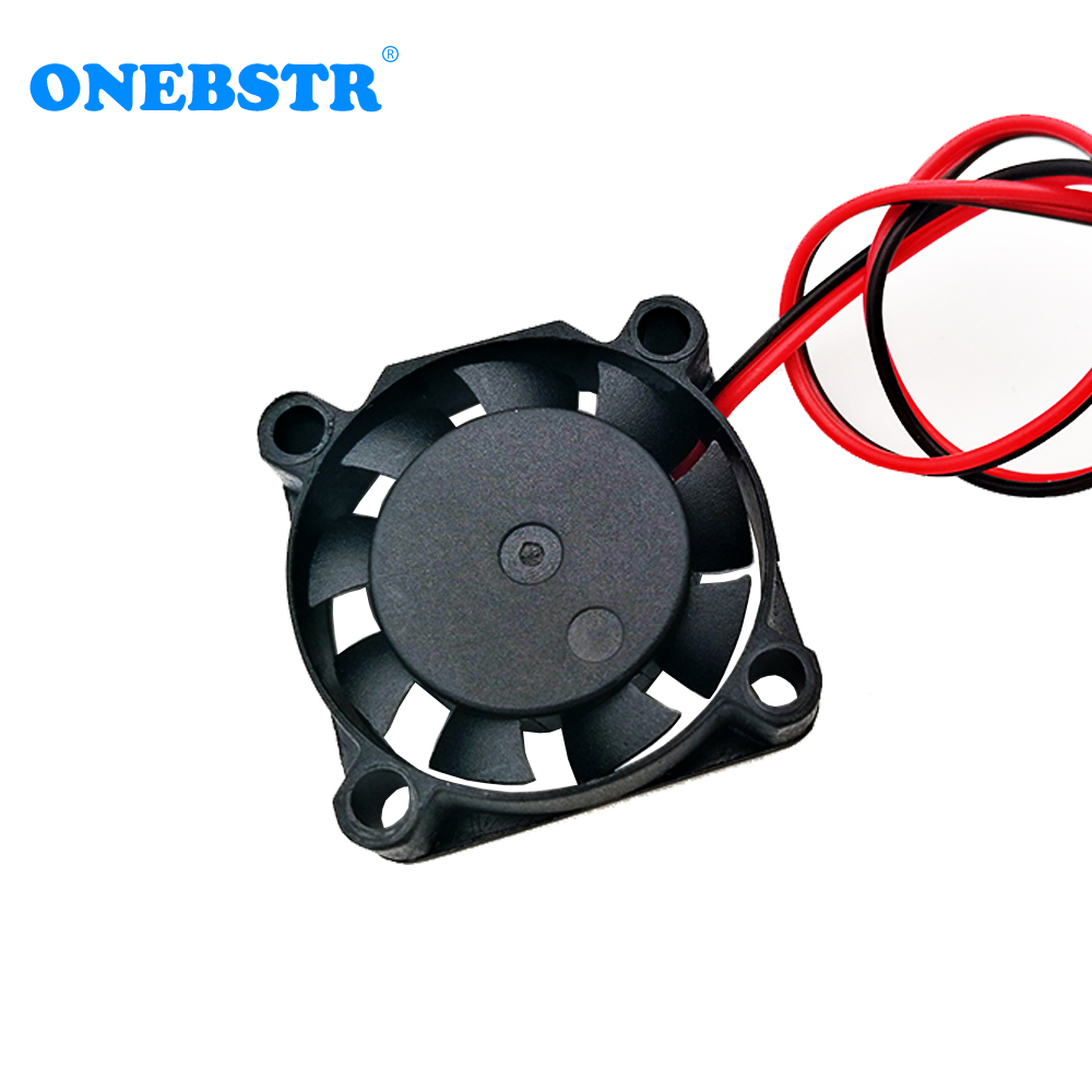 25X25X7mm 5V 12V 2Pin Cooler Brushless Chipset Heatsink Mini Cooling Fan 2507 for Parts 3D Printer 2.5cm free shipping