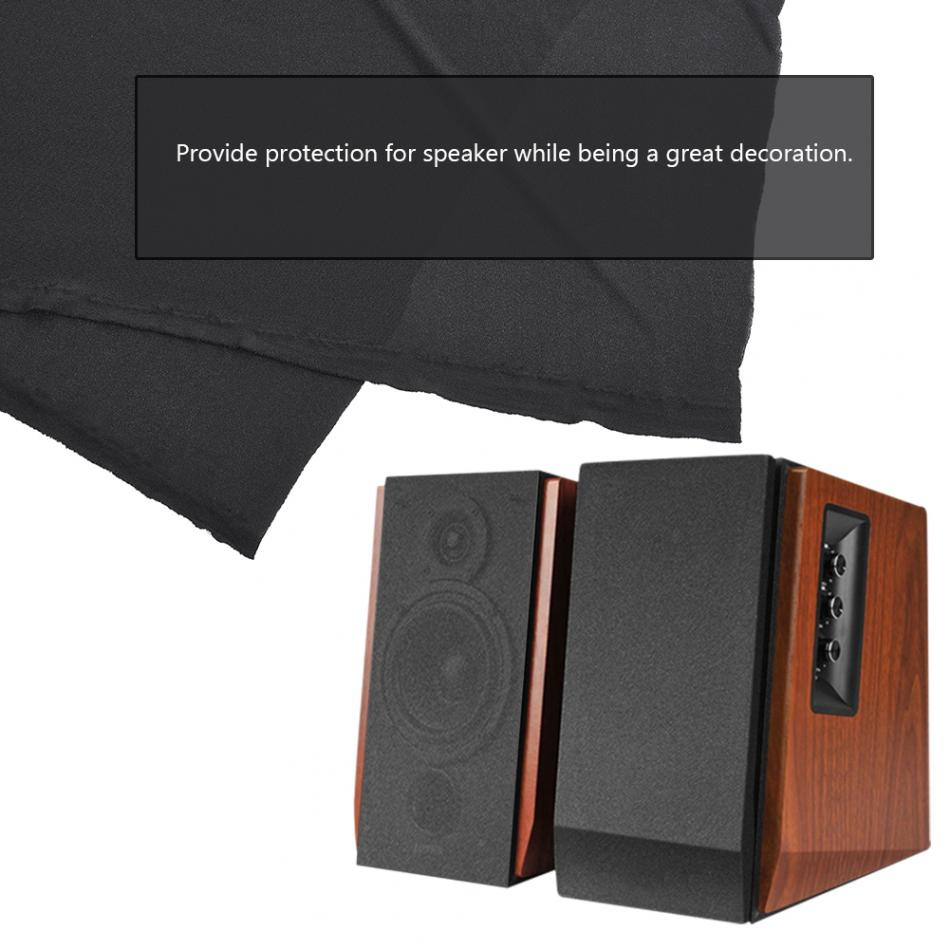 Speaker Grill Cloth Cover HD Gille Fabric Speaker Mesh Cloth Dustproof Protector