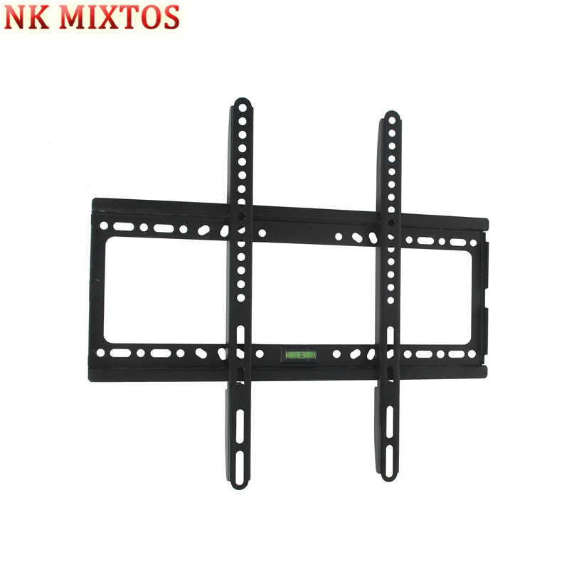 NK MIXTOS Universal TV Wall Mount Bracket for Most 26 ~ 63 Inch HDTV LCD LED Plasma Flat Panel TV Stand Holder Tool Parts wall mount case bracket holder for apple tv