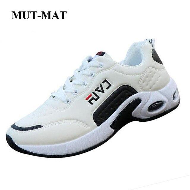 2019 zapatos de hombre de primavera y otoño, zapatos casuales deportivos para hombre, zapatos de cuero antideslizantes, aire salvaje para estudiantes cojín de los zapatos de los hombres