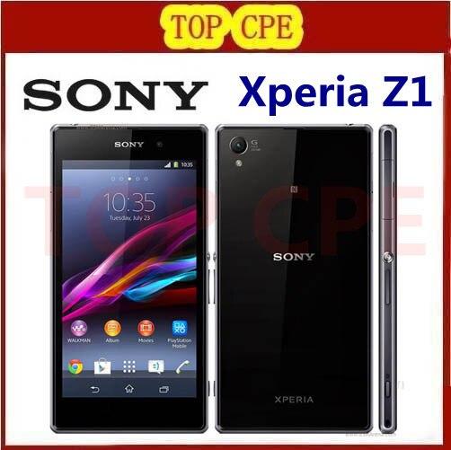 L39h Refurbished Original Sony Xperia Z1 L39h unlocked phone 20 7MP camera 5 0 screen Quad