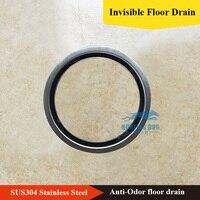 Drain Bathroom Bath Shower Round 150mm Stainless 304 Cover Drainer Floor Grate Kitchen Drainage Deepwater Waste