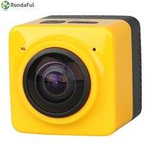 Мини 360 Действие Видео Камера 360 градусов Панорама Камера 360×190 большой панорамный 360 объектив действие Камера мини-автомобиль DVR
