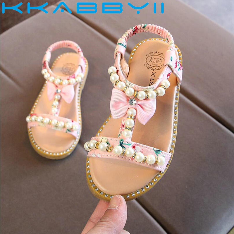 New Children Shoes Sandals Girls Bow Sandals Summer Baby Toddler Shoes Fashion Kids Shoes Pearls Kids Single ShoesNew Children Shoes Sandals Girls Bow Sandals Summer Baby Toddler Shoes Fashion Kids Shoes Pearls Kids Single Shoes