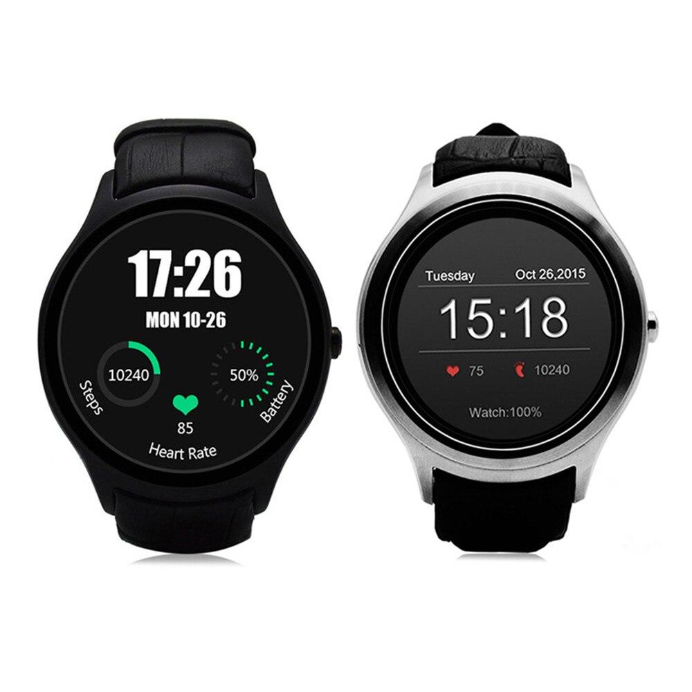 Original de la muti-función de Frío NO. 1 D5 Android 4.4 Bluetooth Reloj  Inteligente con la Función de la Frecuencia Cardíaca 4G ROM + 512 M RAM 450  mAh ... cf41a03e72a