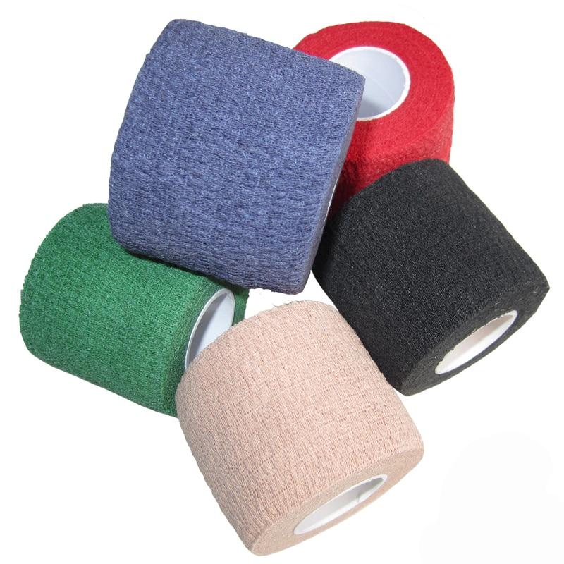 ALI shop ...  ... 32961011652 ... 4 ... 5CM*4.5M Colorful Sport Elastoplast Athletic Kinesiology Elastic Bandage Self Adhesive Wrap Ankle Knee Arthrosis Protector ...