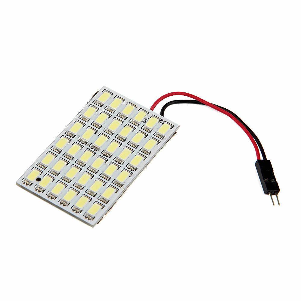 אוניברסלי רכב 36 SMD 5630 LED T10 BA9S כיפת לויה מכונית פנים אור לוח מנורת 12 V רכב קריאת אור/אור פנימי סיטונאי