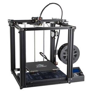 Image 4 - Ender 5 impresora 3D placa base de gran tamaño de alta precisión, placa magnética, apagado de potencia, retomar la construcción fácil Creality 3D Ender5