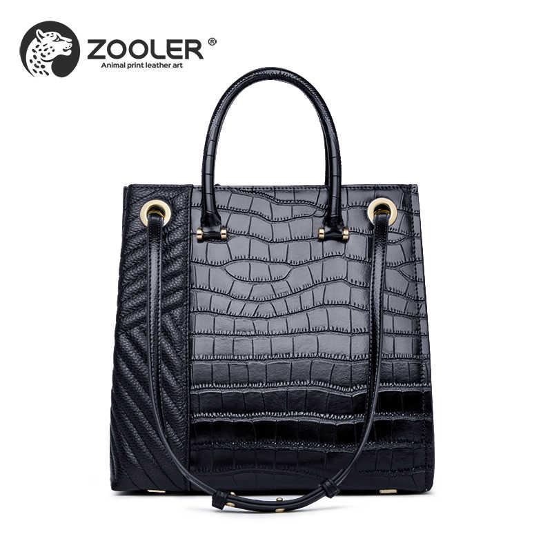 af8bb9ff Натуральная кожа женская сумка ZOOLER роскошные сумки женские сумки большой  конструктор натуральная