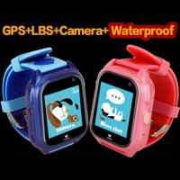 Sports Smart GPS Children Watch Waterproof Phone Positioning GPS Tracker Kids Color Touch Screen SOS Boys/Girls Smart Baby Watch